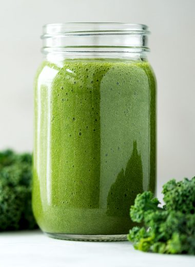 Low-Calorie Kale And Orange Smoothie | healthyinbody.com