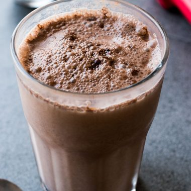 Mocha Yogurt Keto Smoothie That Is High in Protein [Recipe] | healthyinbody.com