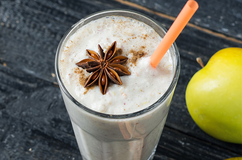Sea Moss and Apple Smoothie